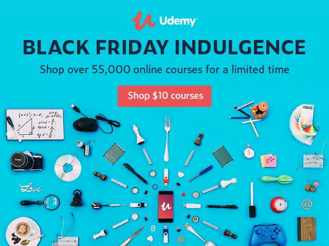 All the IT courses on Black friday sale