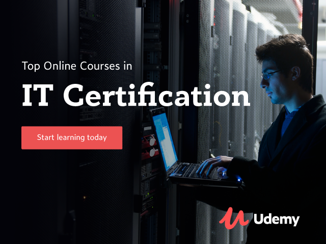 tech and it courses sale udemy
