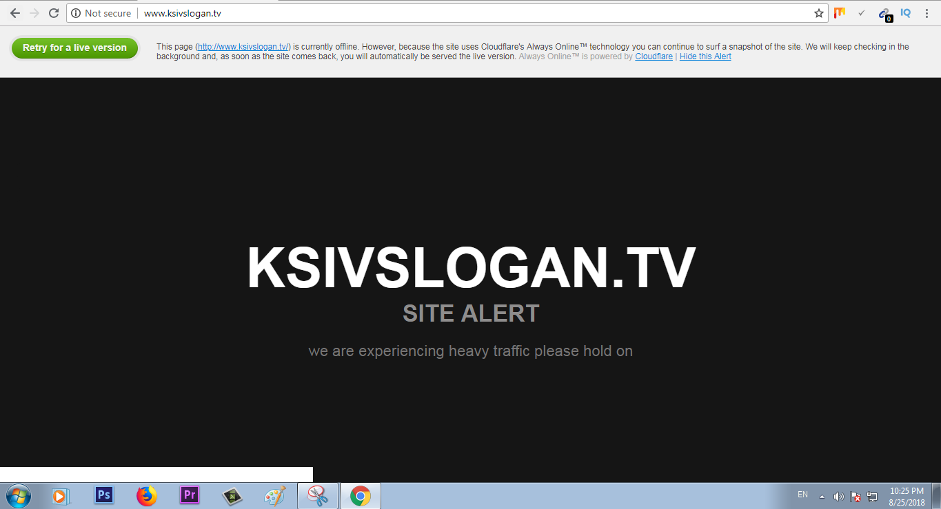 KSI vs Logan Paul Live stream