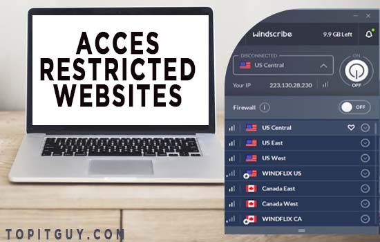 How to access restricted websites?