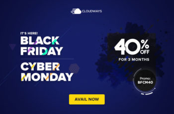 cloudways black friday sale offer 2019