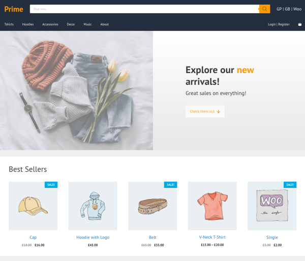 woocommerce generatepress